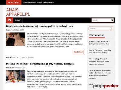 ANAIS APPAREL staniki online