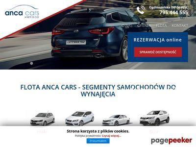 ANCA CARS wypożyczalnia samochodów Bydgoszcz