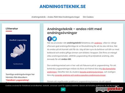 Andningsteknik - l�r dig andas r�tt - http://www.andningsteknik.se
