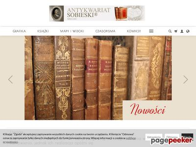 Internetowy Antykwariat Sobieski starodruki
