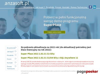 Program płacowy Anzasoft SuperPłace