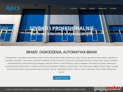 Bramy przemysłowe Gdynia