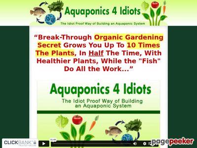 Aquaponics 4 Idiots - The Idiot Proof Way of Building an Aquaponic System 1