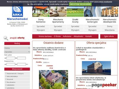 Nieruchomości ARKA Bielsko-Biała