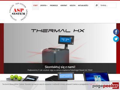 Kasy fiskalne Warszawa | ASP System