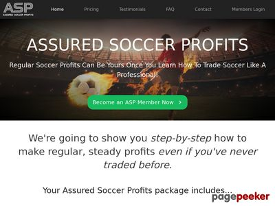 Assured Soccer Profits System