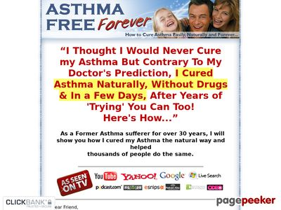 Asthma Relief Forever - How to Cure Asthma Easily, Naturally and Forever 2