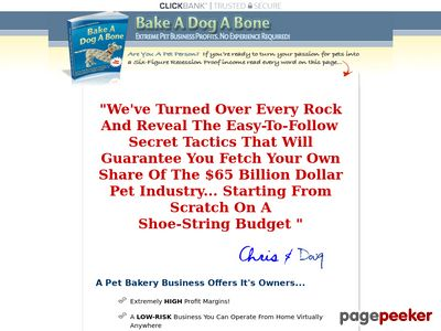 Bake-A-Dog-A-Bone | Step-By-Step Start-up Resources Guide! 1