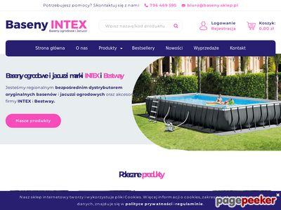 SwimmER Baseny na konstrukcji INTEX