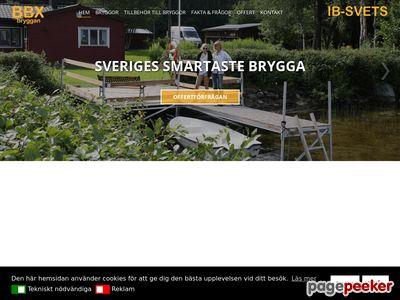 Köp en brygga från BBXbryggan - http://www.bbxbryggan.se