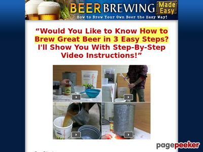 Beer Brewing Made Easy - How to Brew Your Own Beer the Easy Way Beer Brewing Made Easy – How to Brew Your Own Beer the Easy Way www