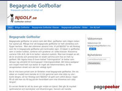 Begagnade golfbollar - http://www.begagnadegolfbollar.n.nu