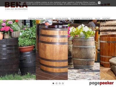 Drewniane stojaki