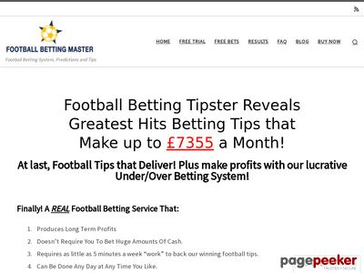 Football Betting System, Tips & Predictions www