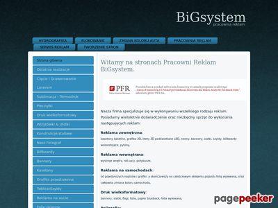 BiGsystem - pracownia reklam Jelenia Góra