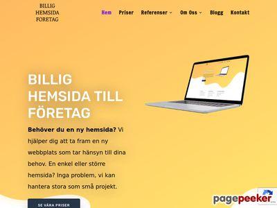 Billighemsidaforetag.se - http://www.billighemsidaforetag.se