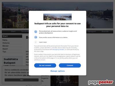 Budapest information - http://www.budapest-info.se