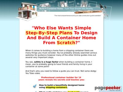 Build A Container Home www