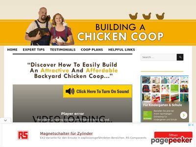 Building A Chicken Coop – Building your own chicken coop will be one of the best decisions you'll make in your life. Learn how at BuildingAChickenCoop.com! www