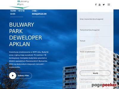 BulwaryPark - nowe mieszkania deweloperskie