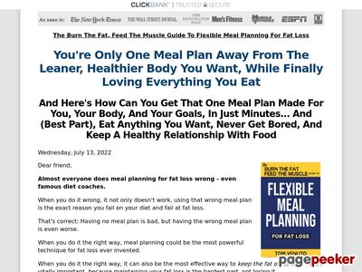 Burn The Fat Body Transformation System - Tom Venuto 1