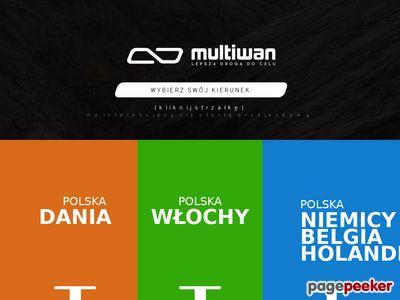 Multiwan Bus Europa – Komfortowe Przewozy
