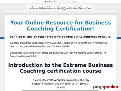 Business Coaching Certified 1
