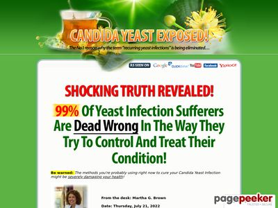 Candida Yeast Exposed! 1