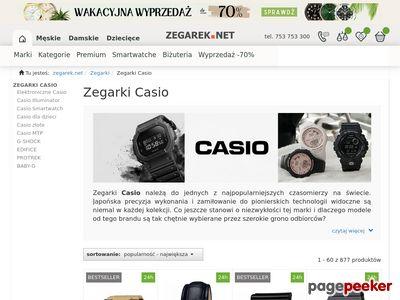 Zegarki Casio najtaniej na Casio-Polska.pl
