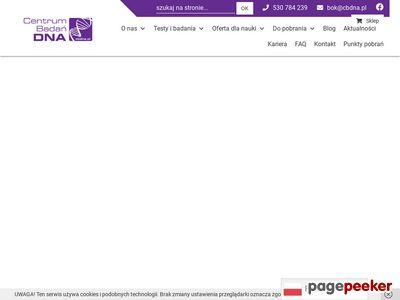 Centrum Badań DNA - Badania genetyczne i testy DNA