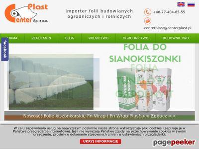 Www.centerplast.pl - folie ogrodnicze