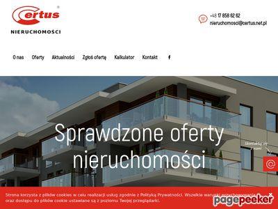 Agencja nieruchomości CERTUS