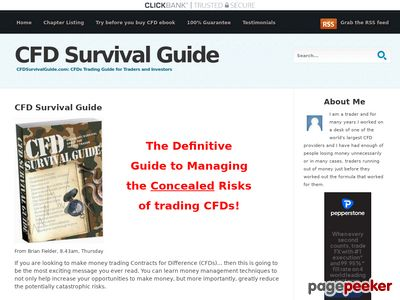 CFD Survival Guide: Contracts for Differerences and CFDs 1