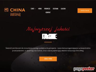 CHINA MING bar chiński szczecin