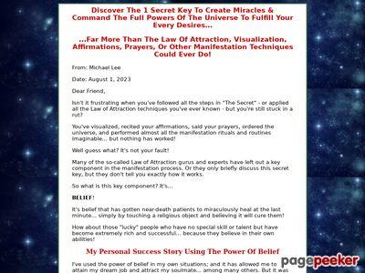 Choose To Believe | The Power Of Belief | Magic of Believing | Change Limiting Beliefs 1