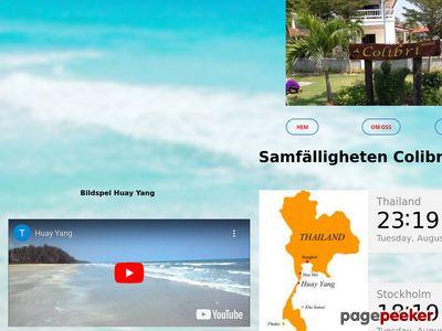 Colibrivillage paradiset i Huay Yang Thailand - http://www.colibrivillage.se