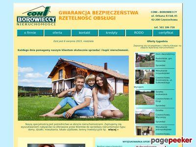 CONI Borowieccy - Agencja Nieruchomości Częstochowa