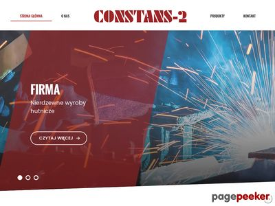 CONSTANS-2 drut oporowy katowice