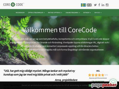 UGL ledarskapsutbildningar - http://www.corecode.se