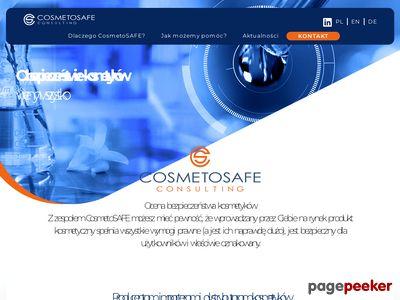 CosmetoSAFE Consulting   Ocena bezpieczeństwa kosmetyku
