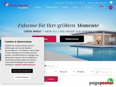 Www.costainvest.com - inwestycje w Hiszpanii
