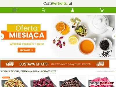 Duży wybór herbat - sklep CoZaHerbata.pl