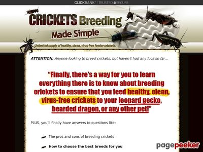 Crickets Breeding Made Simple - Easiest Way to Breed Feeder Crickets 1