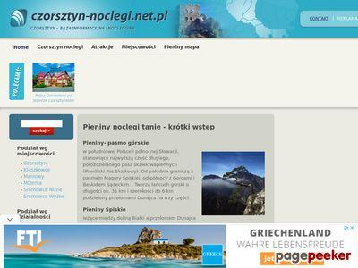 Czorsztyn baza noclegowa