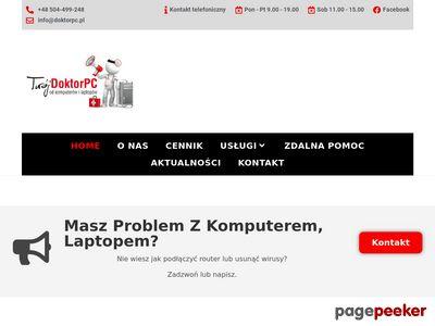 Delpol - naprawa laptopów ul. Sienkiewicza 106/2, Wrocław