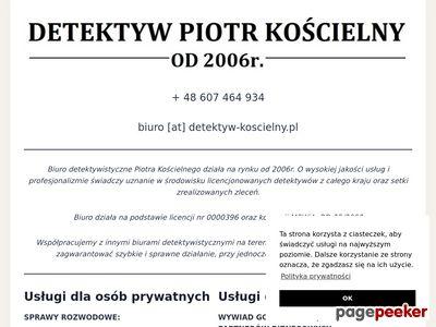 Detektyw Piotr Kościelny - Wrocław