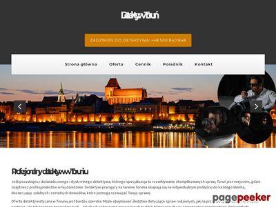Prywatny Detektyw - Detectio - Toruń