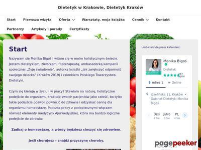 Dietetyk Kraków - Monika Bigoś