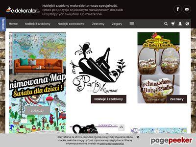 Naklejki ścienne i prezenty na ślub - e-Dekorator.com