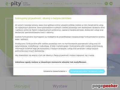 E-pity - podatki